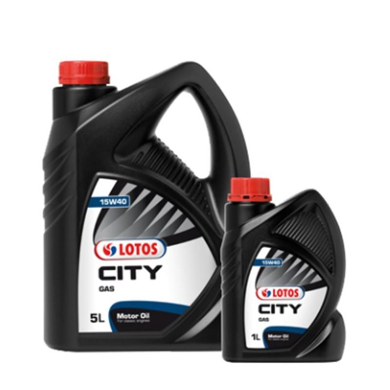 LOTOS CITY GAS 15W-40 5L MINERALNY
