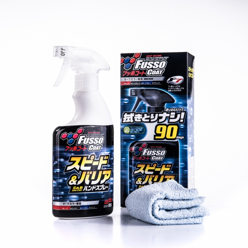 SOFT99 Fusso Coat Speed & Barrier wosk spray