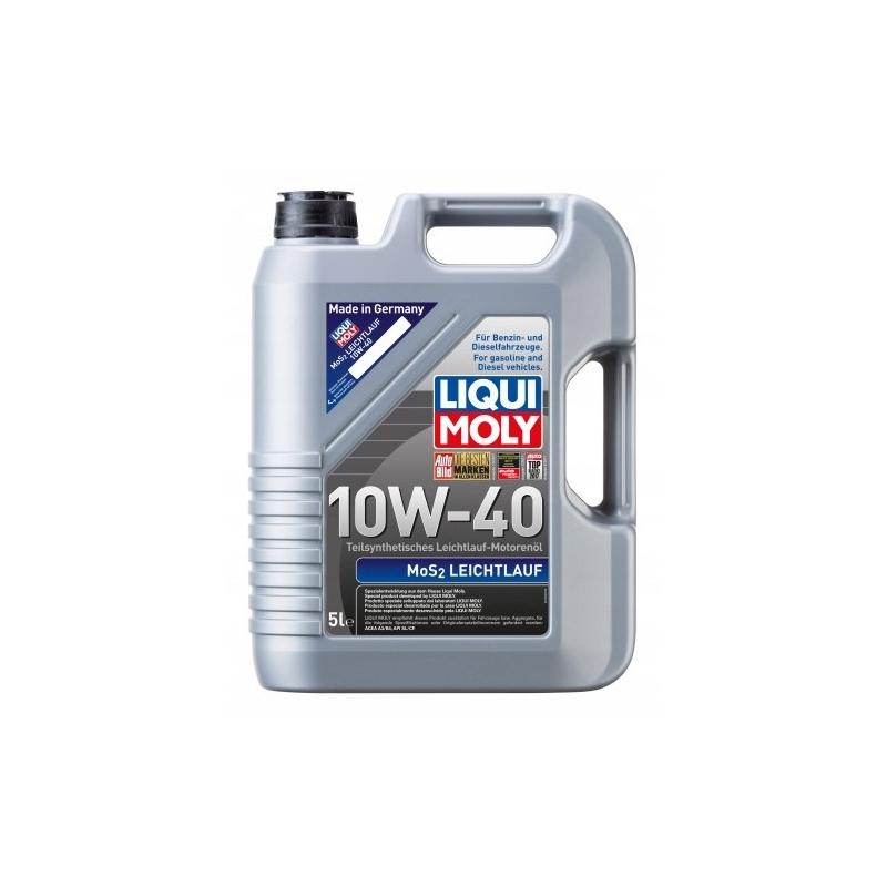 MoS2 - Leichtlauf 10W-40 olej silnikowy 5l