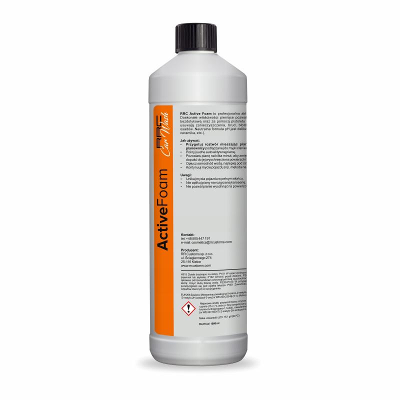 RRC Car Wash Active Foam / Piana aktywna 1 L