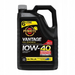 PENRITE VANTAGE 10W-40 6L FULL SYNTHETIC