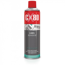 CX80 LABEL REMOVER