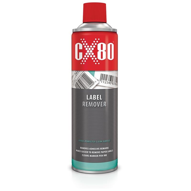 CX80 LABEL REMOVER