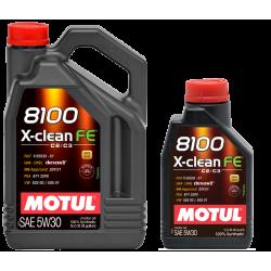MOTUL X- CLEAN FE 5W30 DEXOS 2 1L