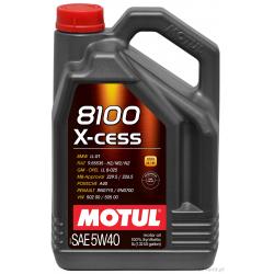 MOTUL 8100 X-CESS 5W40 6L