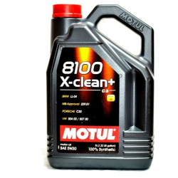MOTUL 8100 X-CLEAN+ C3 5W30 VW 504/507 6L