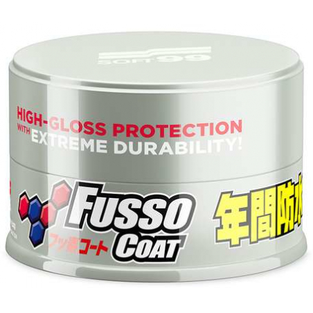 SOFT99 NEW FUSSO COAT 12 MONTHS LIGHT WAX - WOSK SYNTETYCZNY 200G