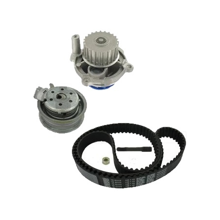 Pasek rozrządu z pompą wody - Zestaw SKF 01113-1 VKMC VW GOLF V VI 1.6