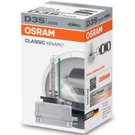 OSRAM XENARC CLASSIC D3S 66340 CLC XENON ŻARNIK