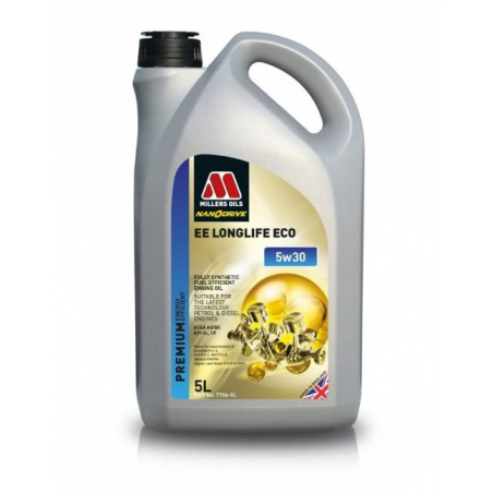 MILLERS OILS EE ECO 5W30 5L FORD RENAULT