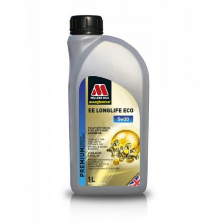 MILLERS OILS EE ECO 5W30 1L FORD RENAULT