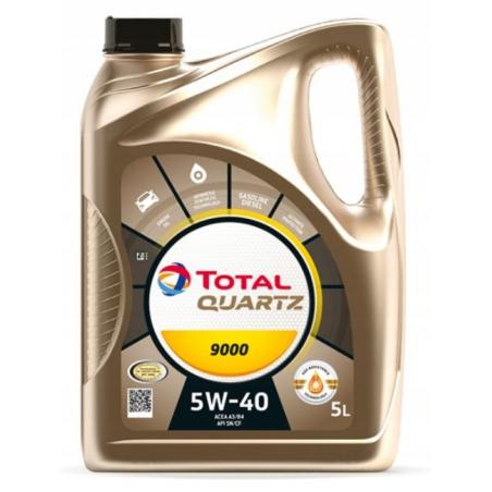 TOTAL QUARTZ 5W40 9000 5L