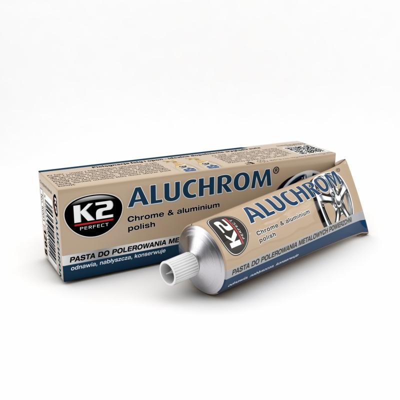 K2 Aluchrom pasta - czyści i nabłyszcza metalowe powierzchnie 120 G