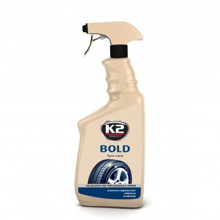 K2 Bold -  spray do pielęgnacji i nabłyszczania opon 700 ML
