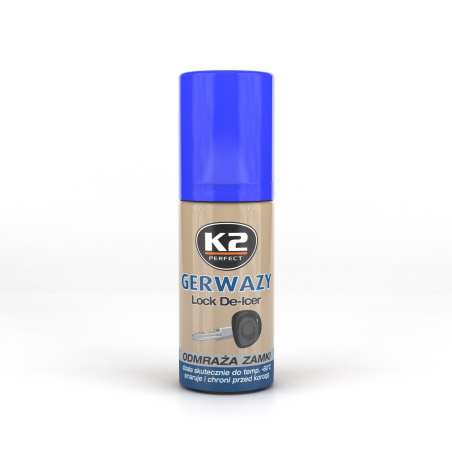 K2 Gerwazy odmrażacz do zamków 50 ML