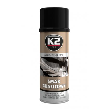 K2 Smar grafitowy 400 ML