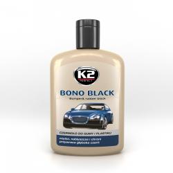K2 Bono black - czernidło do gumy i plastiku 200 G