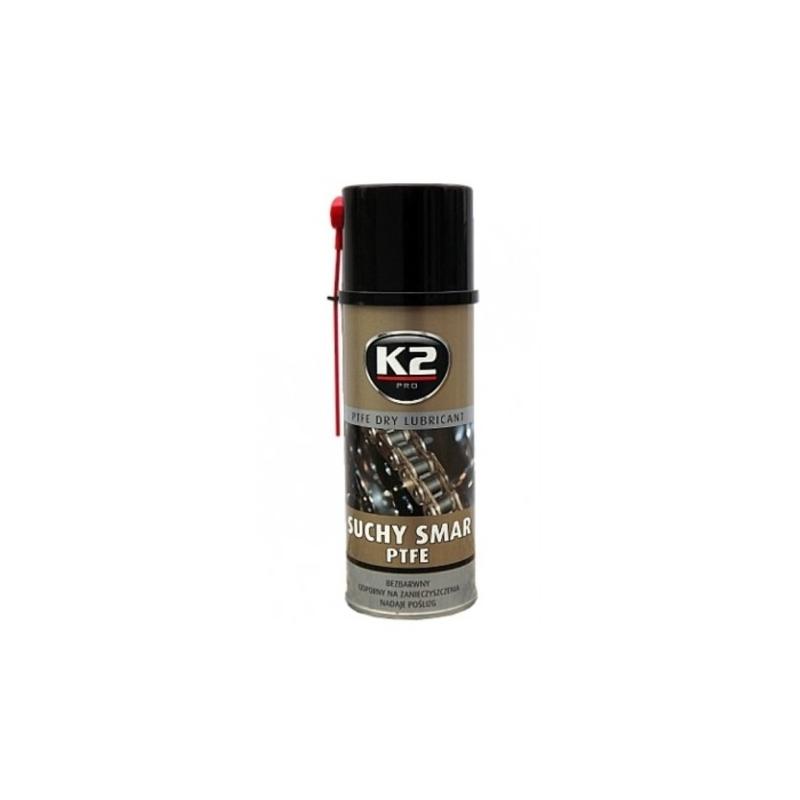 K2 Suchy smar z PTFE 400 ML