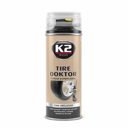K2 Tire doktor - pompuje przebite opony 400 ML