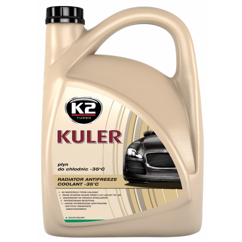 K2 Kuler płyn do chłodnic 5 L