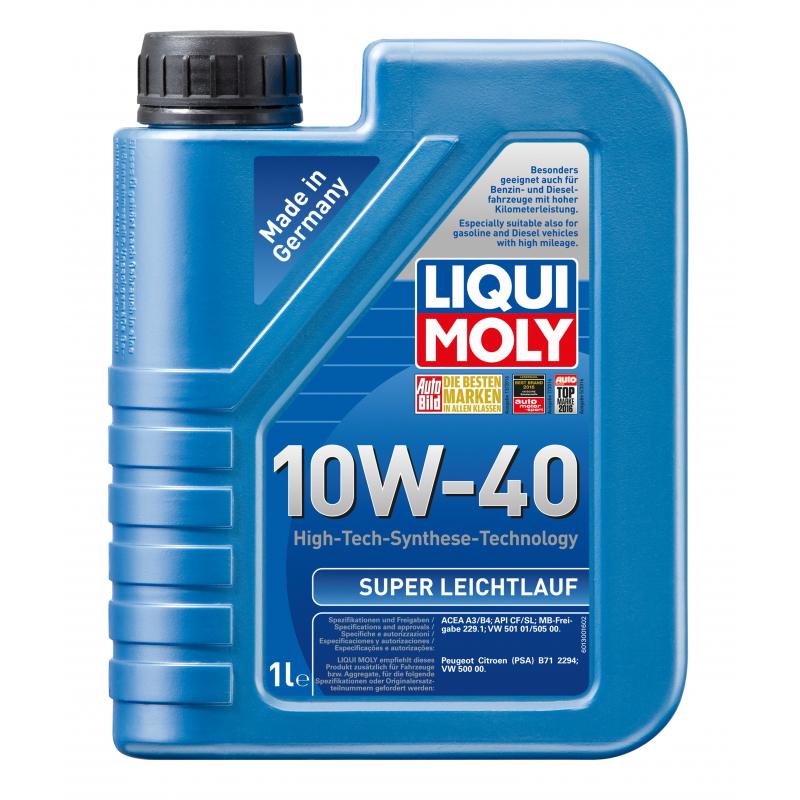 LIQUI MOLY 10W40 LEICHLAUF 1L