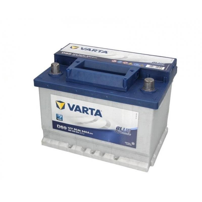 AKUMULATOR 60AH/540A VARTA BLUE DYNAMIC