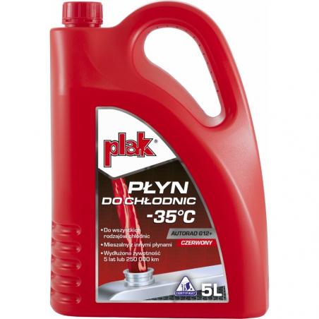 PLAK AUTORAD G12+ Gotowy płyn do chłodnic -35 5L