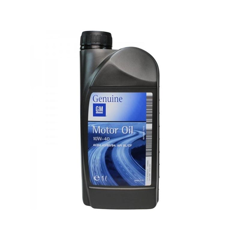 Opel GM 10W40 Półsyntetyczny olej silnikowy  1L