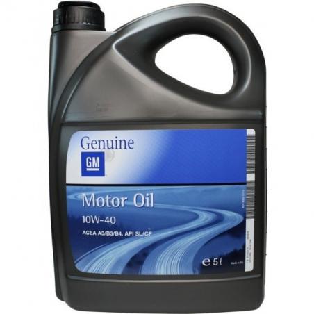 Opel GM 10W40 Półsyntetyczny olej silnikowy  5L