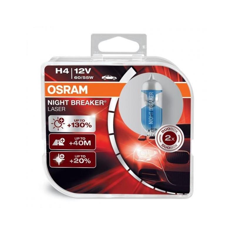 OSRAM NIGHT BREAKER H4 12V 60/55W