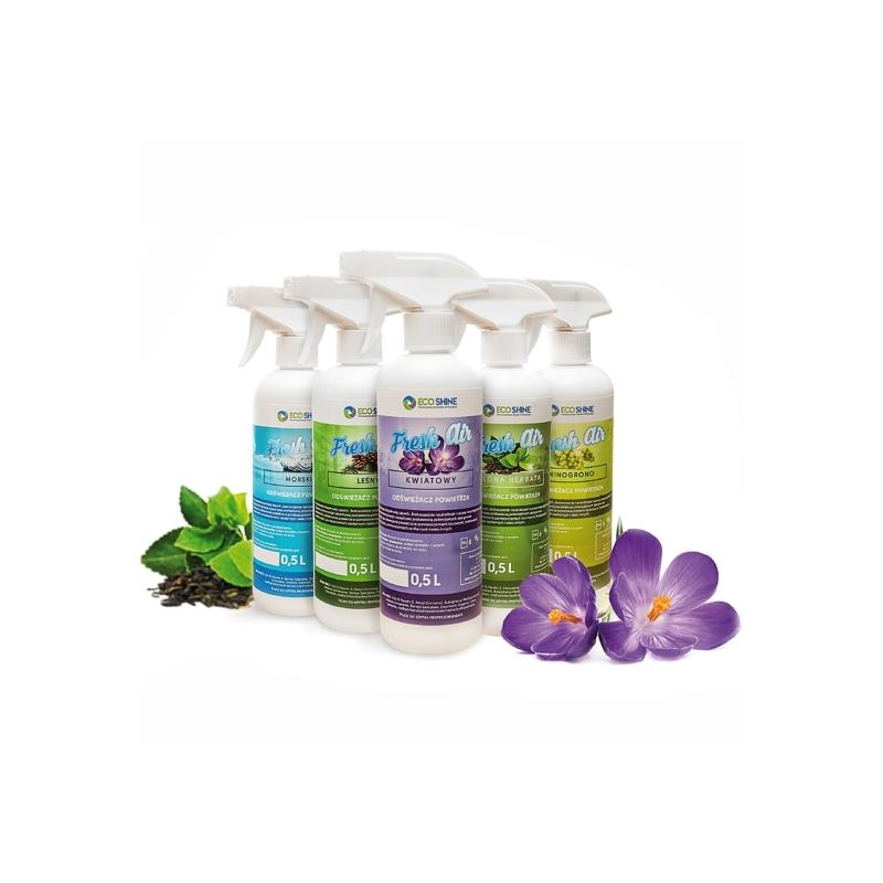 Eco Shine Fresh Air Zielona Herbata odświeżacz powietrza 500ML