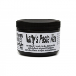 POORBOY'S WORLD Natty's Paste Black Wax NATURALNY WOSK 235ML