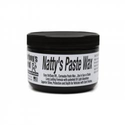 POORBOY'S WORLD Natty's Paste Black Wax NATURALNY WOSK 235ML