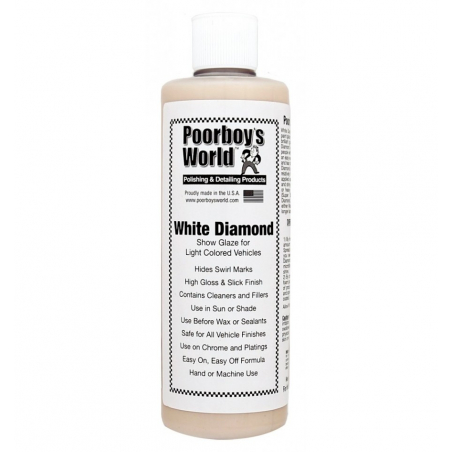 Poorboy's World White Diamond Show Glaze - politura 964ML