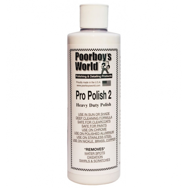 Poorboy's World Pro Polish 2 - mleczko 473ML