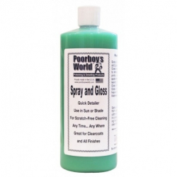 Poorboy's World Spray & Gloss - detailer 964 ML