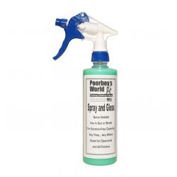 Poorboy's World Spray & Gloss+Sprayer - detailer 473 ML