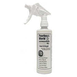 Poorboy's World Bold N Bright+Sprayer -  dressing do opon 473 ML