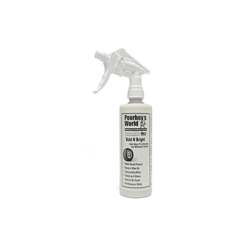 Poorboy's World Bold N Bright+Sprayer -  dressing do opon 473 ML