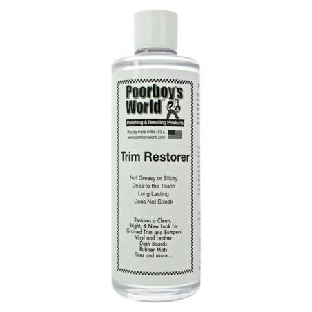 Poorboy's World Trim Restorer - środek do pielęgnacji plastików 473 ML