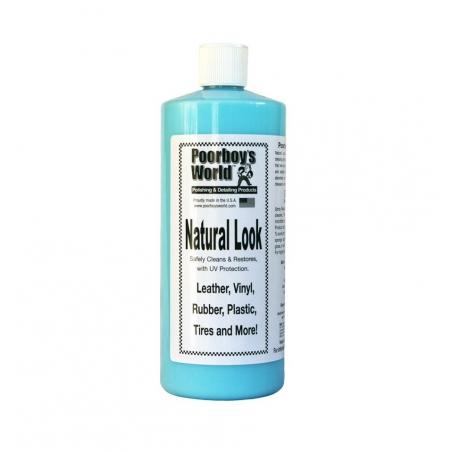 Poorboy's World Natural Look - środek do czyszczenia tworzyw i plastików 964 ML