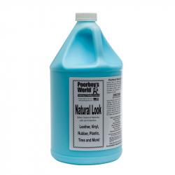 Poorboy's World Natural Look+Sprayer - środek do czyszczenia tworzyw i plastików 3780 ML