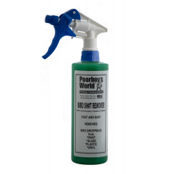 Poorboy's World Bird Shit Remover+Sprayer - środek do usuwania ptasich odchodow  473 ML