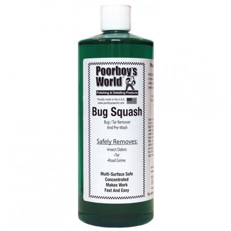 Poorboy's World Bug Squash - środek do usuwania owadów i smoły  473 ML