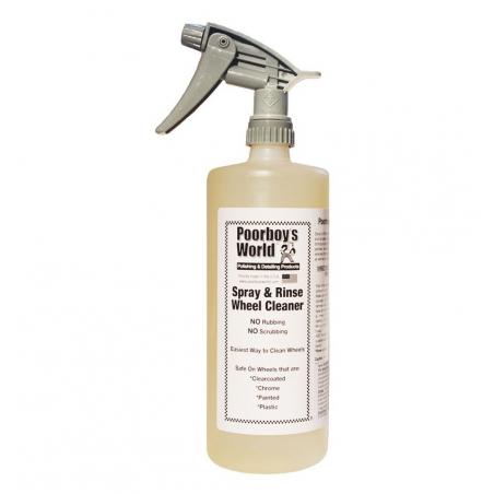 Poorboy's World Spray & Rinse+Sprayer - środek do czyszczenia felg  964 ML