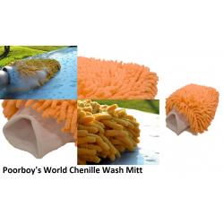 Poorboy's World Chenille Microfiber Wash Mitt - rękawica z mikrofibry