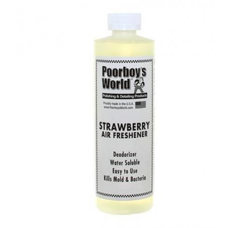 Poorboy's World Air Freshener Strawberry - odświeżacz powietrza o zapachu truskawki 964 ML