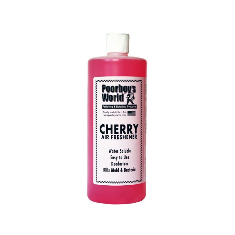 Poorboy's World Air Freshener Cherry - odświeżacz powietrza o zapachu wiśni 964 ML