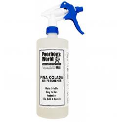 Poorboy's World Air Freshener Pina Colada+Sprayer - odświeżacz powietrza o egzotycznym aromacie 473 ML