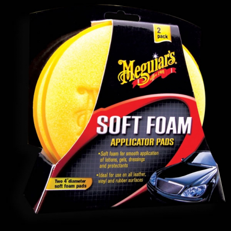 Meguiar's Soft Foam Applicator Pad (2-pack) - Aplikator (2 sztuki)